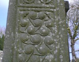 Monasterboice, Ireland, Celtic motiffs