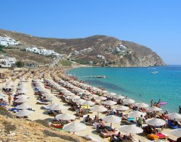 Mykonos, Greece, Beach 1