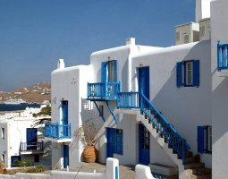 Mykonos, Greece, House design