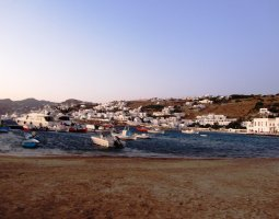 Mykonos, Greece, Harbor