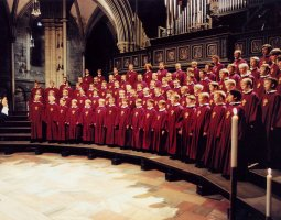 Nidaros Cathedral, Trondheim, Norway, Boys Choir