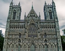 Nidaros Cathedral, Trondheim, Norway, West Front
