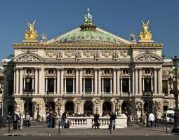 Paris Architecture, France, Opera frontal view
