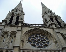 Paris Architecture, France, Bell Tower of St Jean Baptiste Church