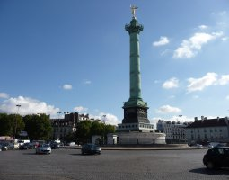 Paris Architecture, France,  Place de la Bastille