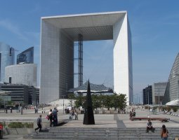 Paris Architecture, France, La Defense, Grande Arc