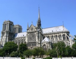 Paris Architecture, France, Notre Dame de Paris