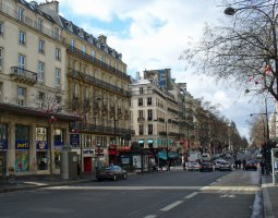 Paris Architecture, France, Boulevard Montmartre