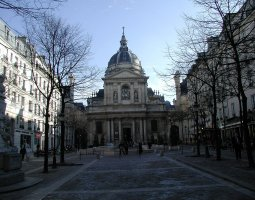 Paris Architecture, France, Sorbonne Square