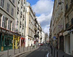 Paris Architecture, France, Lancry Street