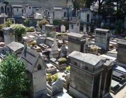 Paris Architecture, France, Montmartre Cemetery