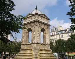 Paris Architecture, France, Fontaine Des Innocents