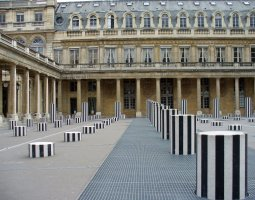 Paris Architecture, France, Colonnes Buren, Palais Royal
