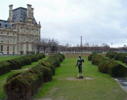 Paris Architecture, France, The Park outside Le Pavillon de Flore