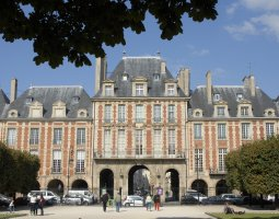 Paris Architecture, France, Place des Vosges