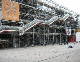 Paris Architecture, France, Pompidou