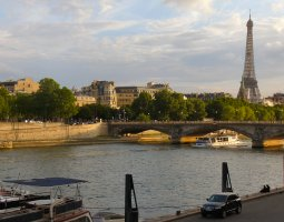 Paris Architecture, France, The River Seine