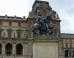 Paris Architecture, France, Statue of Louis XIV