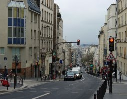 Paris Architecture, France, Rue Menilmontant