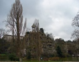 Paris Architecture, France, Buttes Chaumont Temple