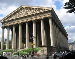 Paris Architecture, France, La Madeleine