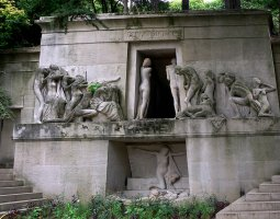 Paris Architecture, France, Pere Lachaise Cemetery