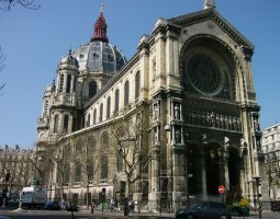 Paris Architecture, France, Saint Augustin Church