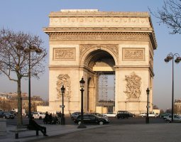 Paris Architecture, France, Arc de Triomphe