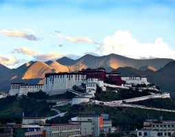 Potala Palace, Tibet, China, Oversee