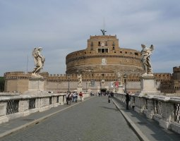 Rome Architecture, Italy, Castel Sant Angelo