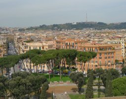 Rome Architecture, Italy, view from above