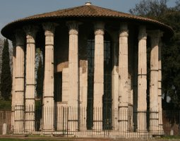 Rome Architecture, Italy, Temple of Vesta