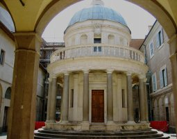 Rome Architecture, Italy, The Tempietto