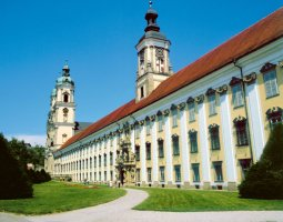 Saint Florian Abbey, Austria, Extrior overview