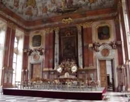 Saint Florian Abbey, Austria, Interior choir room