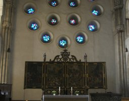 Saint Paulus Dom, Munster, Germany, Choir area