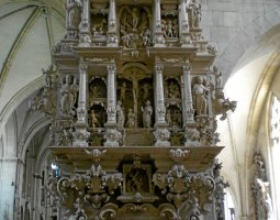 Saint Paulus Dom, Munster, Germany, Fine carved stone