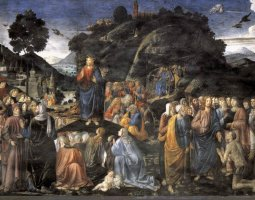 Sistine Chapel, Vatican, Cosimo Rosselli, Sermon on the Mount