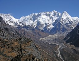 Tallest Mountains, Kangchenjunga, Himalayas, Talung Kabru and Ratong