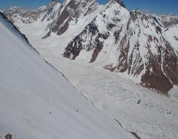 Tallest Mountains, K2, Mount Godwin Austen, Snowy steep slope