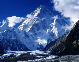 Tallest Mountains, K2, Mount Godwin Austen, Closeup view