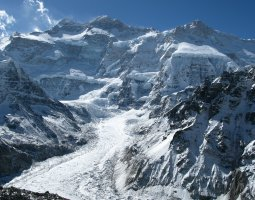 Tallest Mountains, Kangchenjunga, Himalayas, Pang Pema overview