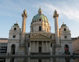 Vienna Architecture, Austria, St Charles Church