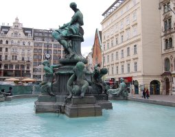 Vienna Architecture, Austria, Raphael Donner Fountain