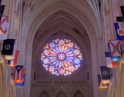 National Cathedral, Washington, U.S.A., Rose window