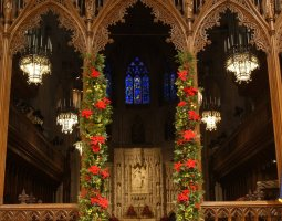 National Cathedral, Washington, U.S.A., Christmas time