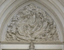 National Cathedral, Washington, U.S.A., Ex Nihilo sculpture