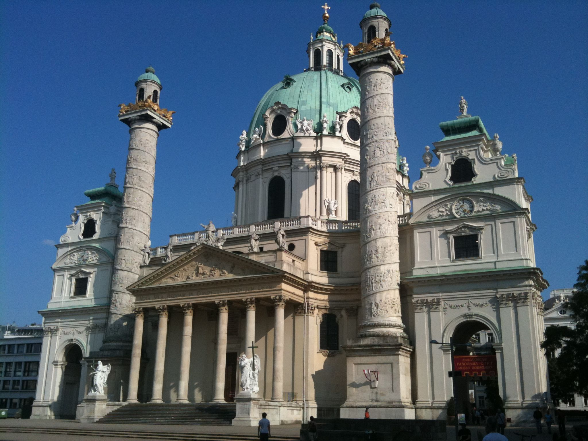 vienna architecture austria st charles church