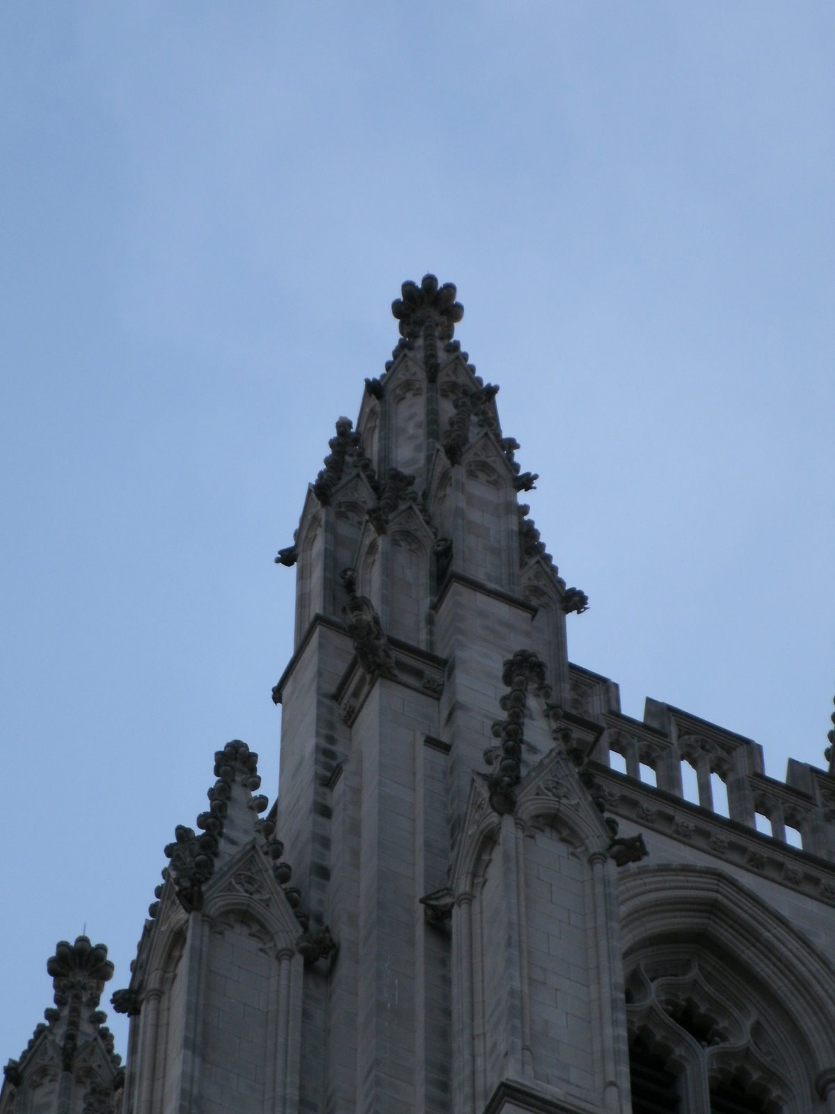 National Cathedral, Washington, U.S.A., Tower architecture detail