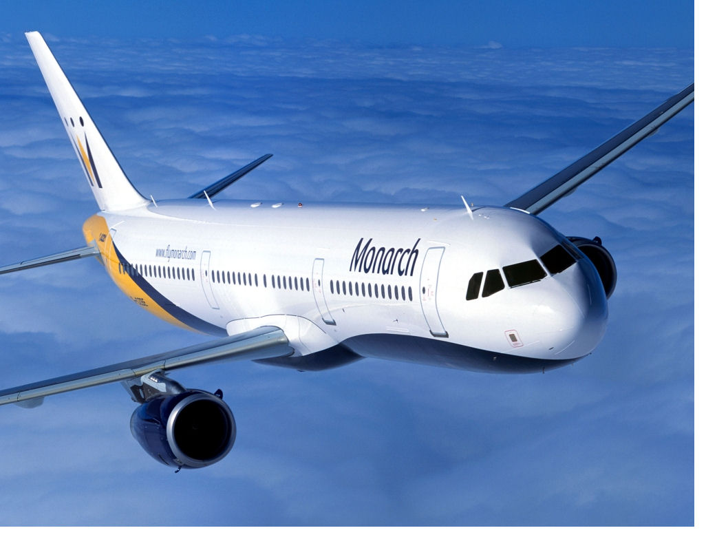 Airline regulations, Monarch airplane